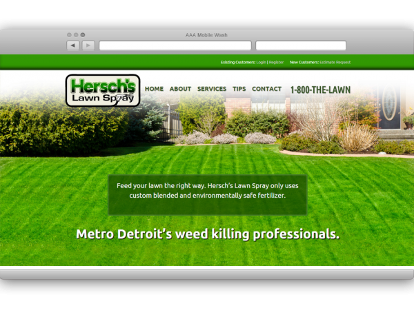 Hersch's Lawn Spray